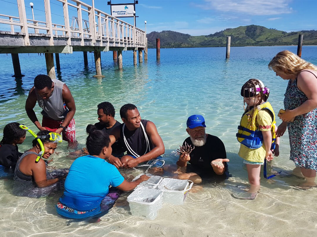 Marien conservation fiji