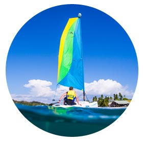 Plantation Island Resort - Activities - Sailing and More