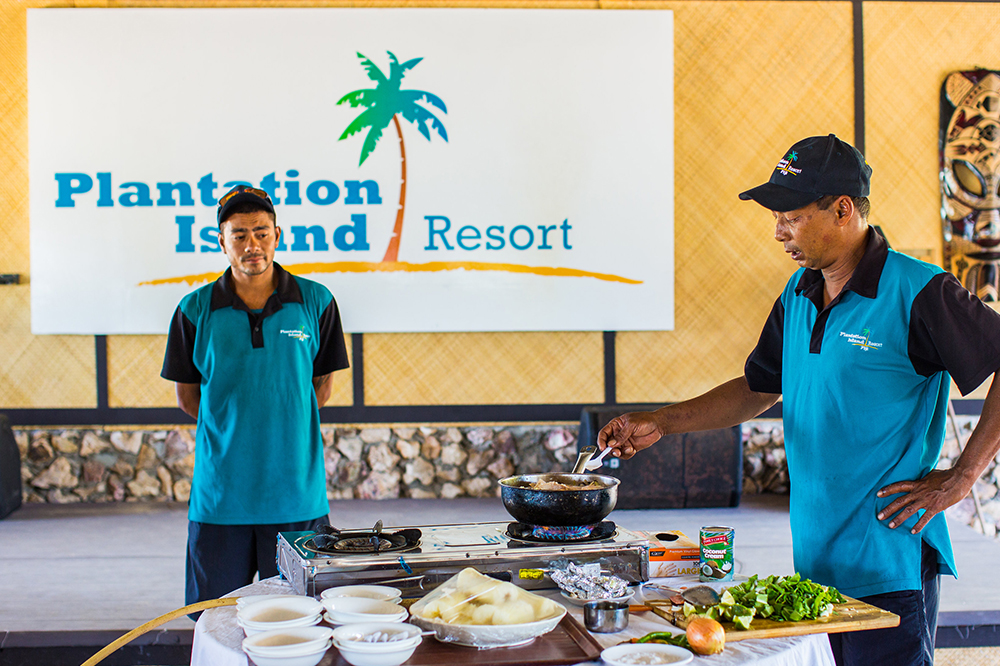 Fiji Food and Cuisine - Plantation Island