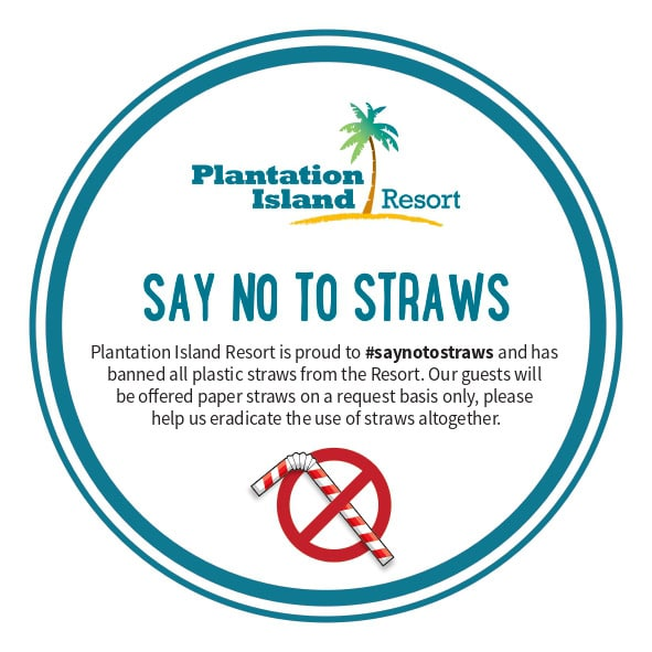Plantation Island - Loyalty Program - No Straws